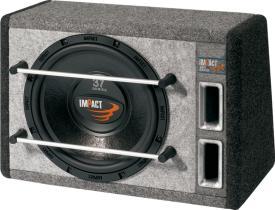 """Impact Car Audio 3712-04 V - 3712-04 V Caja con Subwoofer 12"""" Reflex - 190 W RMS"""