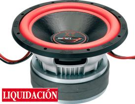 "Impact Car Audio XT 12-22 - Subwoofer 12""  2 x 1 - 1800  W RMS"