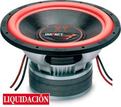 "Impact Car Audio XT 15-11 - Subwoofer 12"" 320mm 2 x 2 - 1800 W RMS"